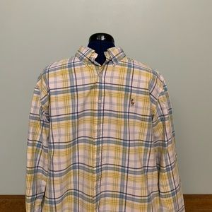 Ralph Lauren Custom Fit Button Up Men's (XXL)